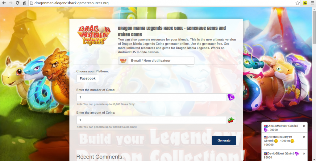 dragon mania legends hack tool